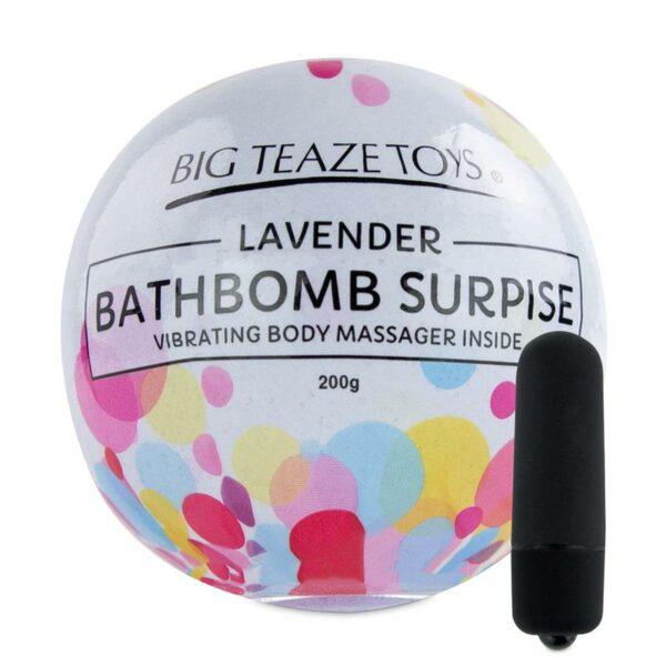 bomba de baño con bala vibradora