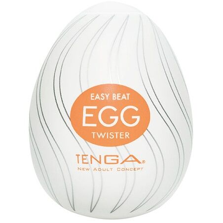Huevo Tenga naranja twister